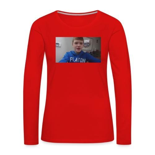 roel t-shirt - Vrouwen Premium shirt met lange mouwen