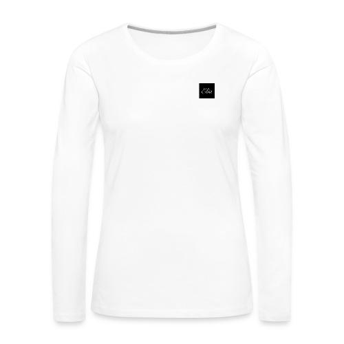 ELIA (Black and white) - Frauen Premium Langarmshirt