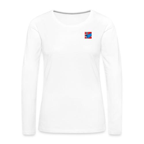 NorPot SAS ACE - Premium langermet T-skjorte for kvinner