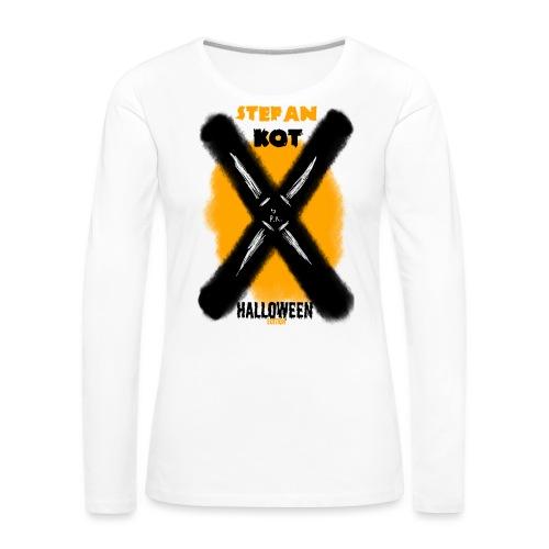 HALLOWEEN Edition - Koszulka damska Premium z długim rękawem