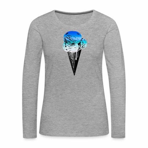 Ice Cream Paradise - Frauen Premium Langarmshirt