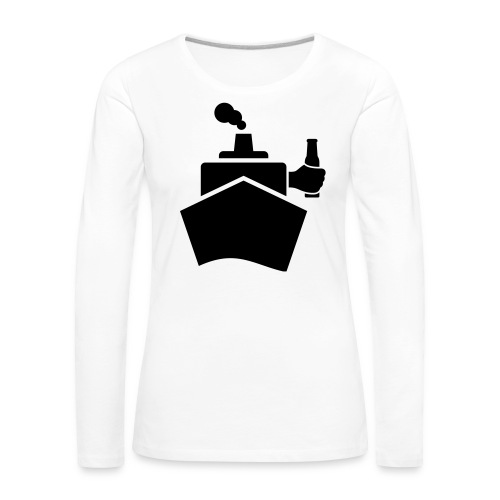 King of the boat - Frauen Premium Langarmshirt