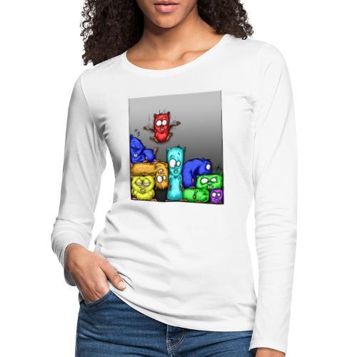 hamstris_farbe - Frauen Premium Langarmshirt