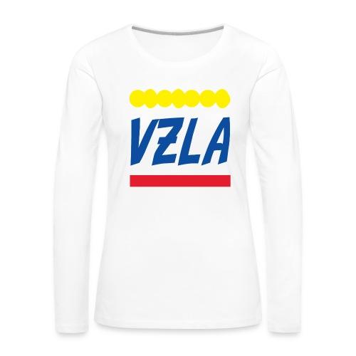 vzla 01 - Camiseta de manga larga premium mujer