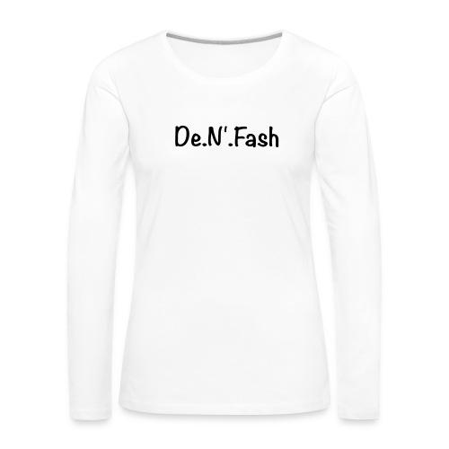T-shirt premium homme - T-shirt manches longues Premium Femme