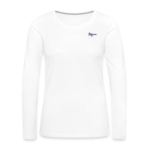 ROYC Logo einfarbig ohne Schriftzug - Frauen Premium Langarmshirt
