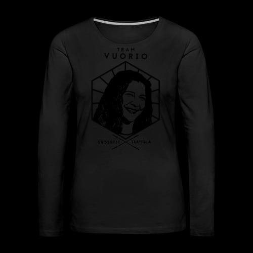 Vuorio WW 18 - Naisten premium pitkähihainen t-paita