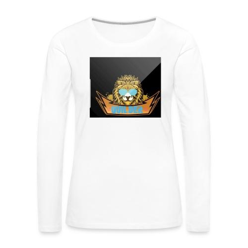 20200216 104401 - Långärmad premium-T-shirt dam