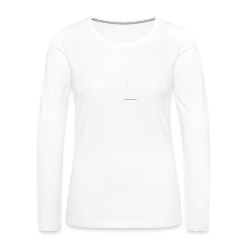 28 White - Women's Premium Longsleeve Shirt