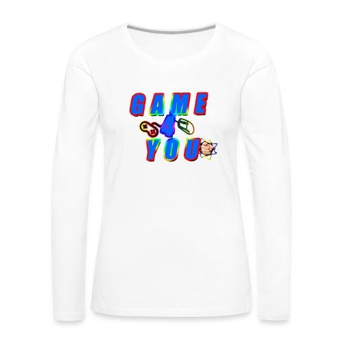 Game4You - Women's Premium Longsleeve Shirt