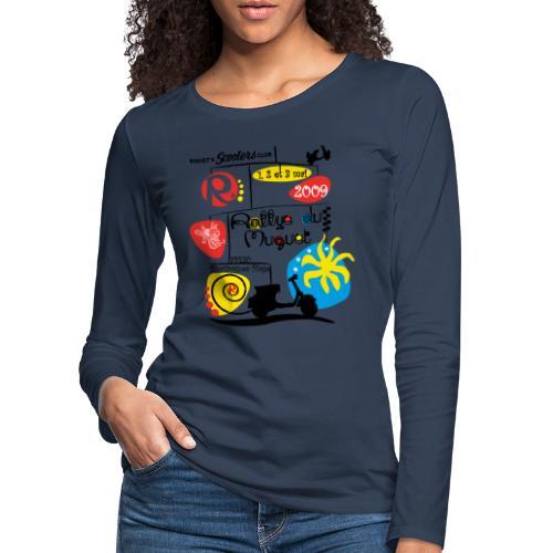 Rallye du Muguet 2009 - T-shirt manches longues Premium Femme