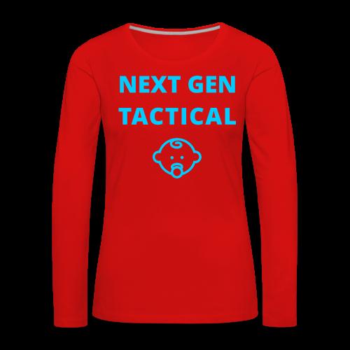 Tactical Baby Boy - Vrouwen Premium shirt met lange mouwen