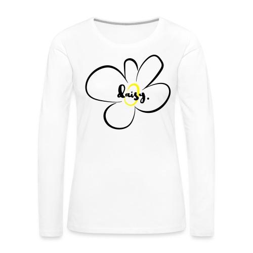 Gänseblümchen - Frauen Premium Langarmshirt