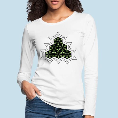 Stern - Frauen Premium Langarmshirt