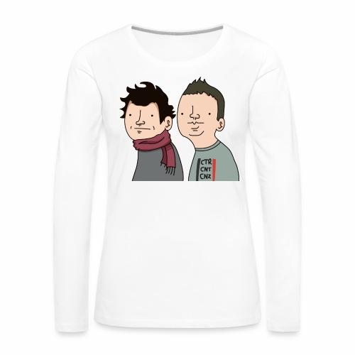 Laink et Terracid Wankuls - T-shirt manches longues Premium Femme