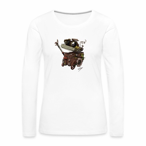Bout 2 Robot - Women's Premium Longsleeve Shirt