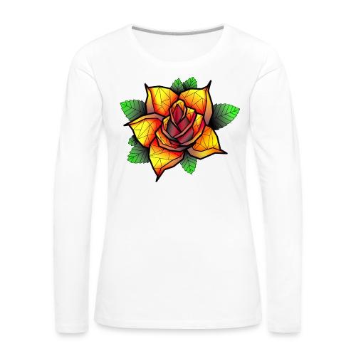rose - T-shirt manches longues Premium Femme