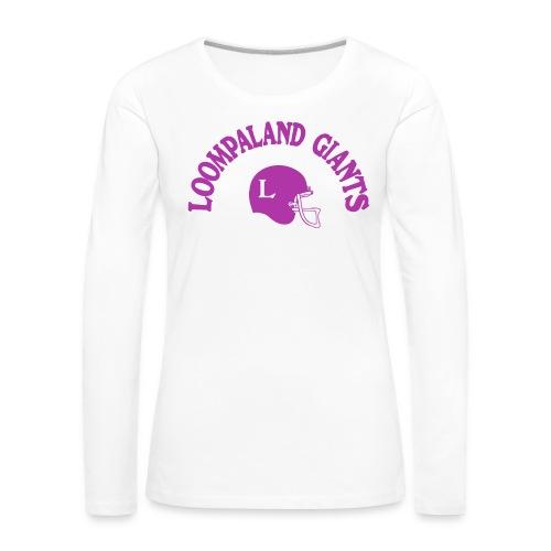 Willy Wonka heeft een team - Vrouwen Premium shirt met lange mouwen
