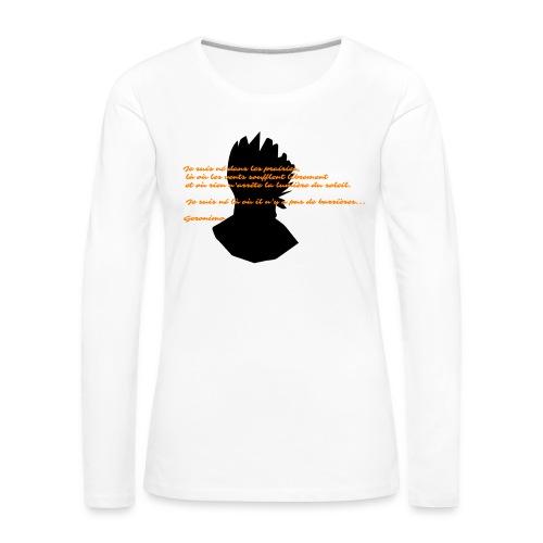 geronimo 2 - T-shirt manches longues Premium Femme