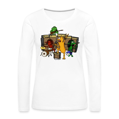 Kobold Metal Band - Women's Premium Longsleeve Shirt