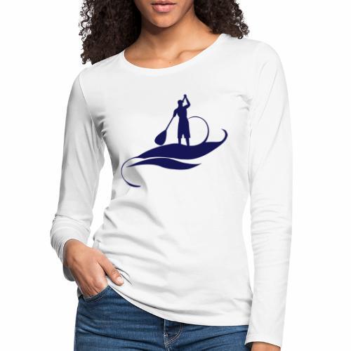 Paddle Man - T-shirt manches longues Premium Femme