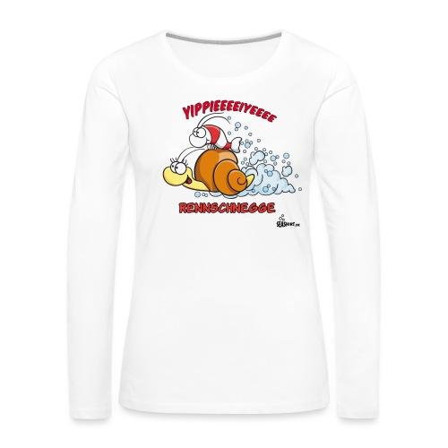 rennschnegge - Frauen Premium Langarmshirt
