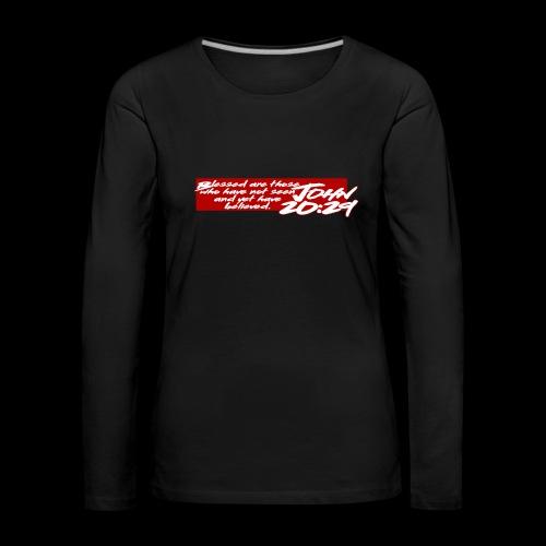 OVER REASON 2 - Camiseta de manga larga premium mujer