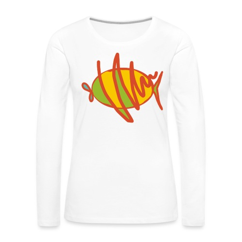 fish - Frauen Premium Langarmshirt