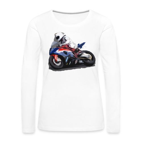 MOTO - Maglietta Premium a manica lunga da donna