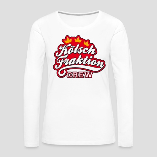 KölschFraktion CREW - Frauen Premium Langarmshirt