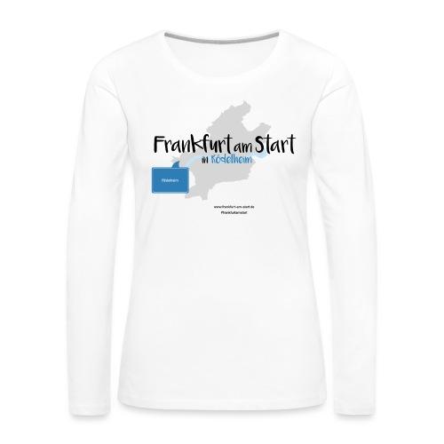 Frankfurt am Start - Rödelheim - Frauen Premium Langarmshirt