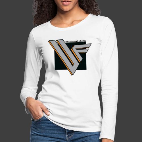 United Front - Naisten premium pitkähihainen t-paita