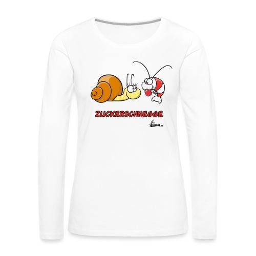 zuckerschnegge - Frauen Premium Langarmshirt