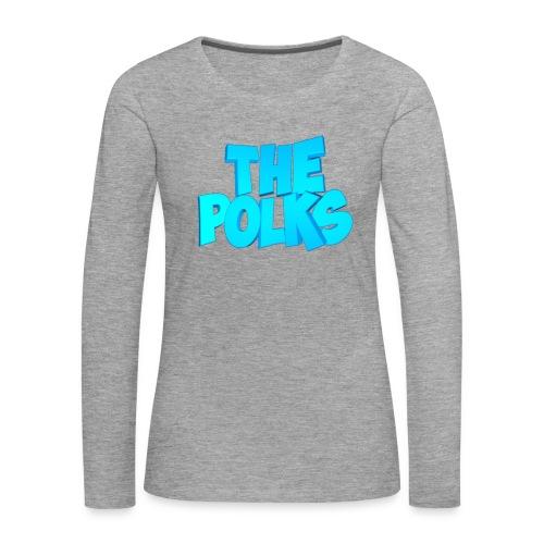 THEPolks - Camiseta de manga larga premium mujer