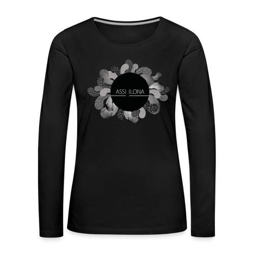 Assi Ilona vauvan paita - Naisten premium pitkähihainen t-paita
