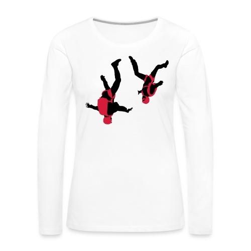 parachutisme Free Fly - T-shirt manches longues Premium Femme