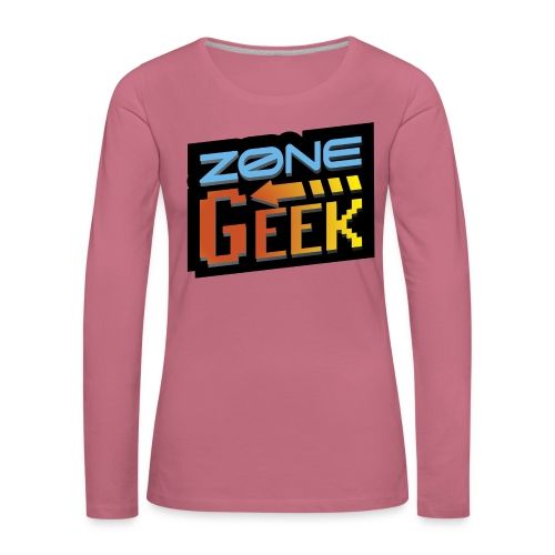 NEW Logo T-Shirt Femme - T-shirt manches longues Premium Femme