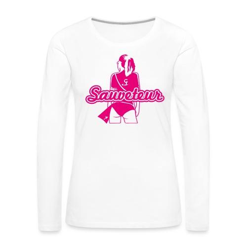 filleevens - T-shirt manches longues Premium Femme