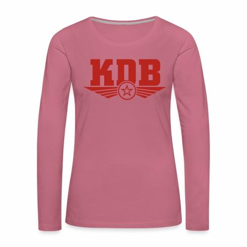 KDB - Women's Premium Longsleeve Shirt