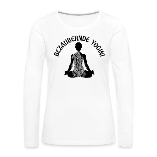 Bezaubernde Yogini - Frauen Premium Langarmshirt