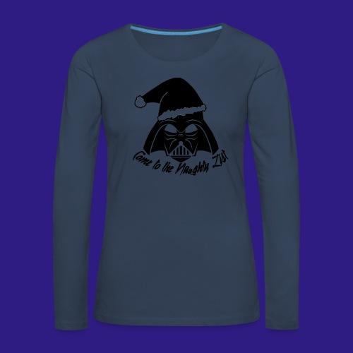 Vader's List - Women's Premium Longsleeve Shirt