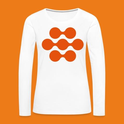 seed madagascar logo squa - Women's Premium Longsleeve Shirt