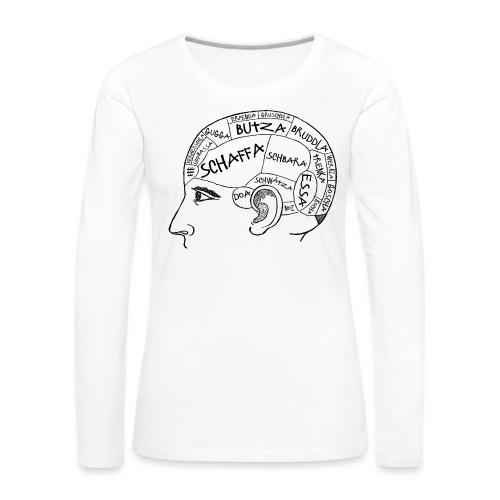 Kopfsache - Frauen Premium Langarmshirt
