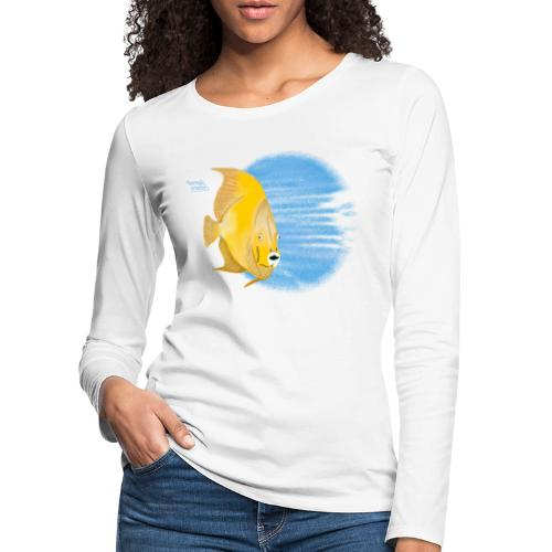 Selfie scuba diving - T-shirt manches longues Premium Femme