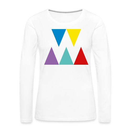 Logo We are les filles - T-shirt manches longues Premium Femme