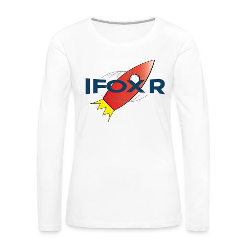 IFOX ROCKET - Långärmad premium-T-shirt dam