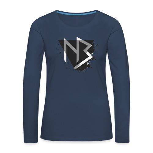 Cappellino NiKyBoX - Maglietta Premium a manica lunga da donna