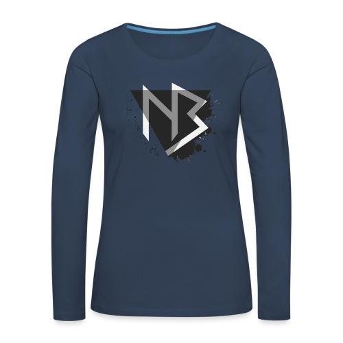 T-shirt NiKyBoX - Maglietta Premium a manica lunga da donna