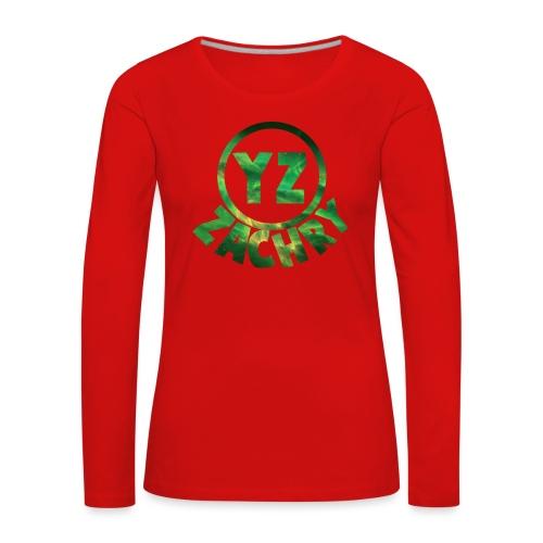 YZ-pet - Vrouwen Premium shirt met lange mouwen