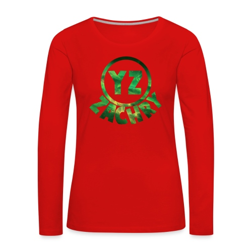 Ifoon 6/6s YZ-hoesje - Vrouwen Premium shirt met lange mouwen